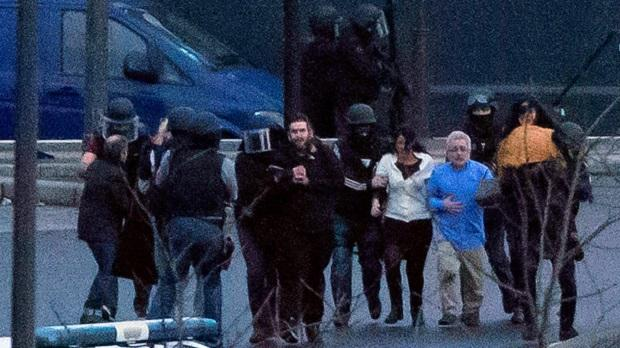 LIVE: Paris attacks:Two hostage situations end